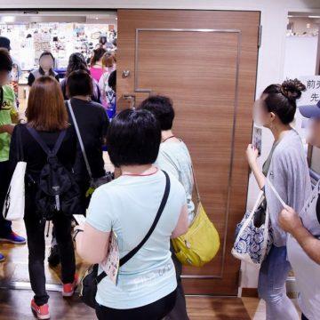 開場と同時に大勢の入場客が詰めかける photo by a.kwsk