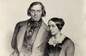 作曲家ロベルト・アレクサンダー・シューマンの肖像画