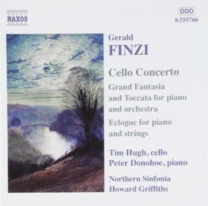 Cello Concerto NAXOS盤ジャケット写真
